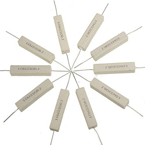 doradus-10pcs-resistances-de-pouvoir-de-ciment-ceramiques-330-ohms-10w-watt-5-
