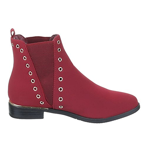 Chaussures, bottines 0–78 Rouge - Rouge