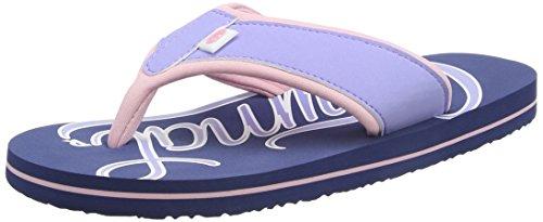 Animal Swish Logo, Sandali Donna Blu (Sailor Blue)