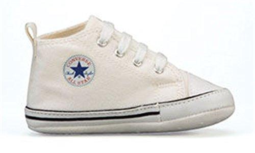 Converse , Mädchen Sneaker, Weiß - weiß - Größe: 2 UK