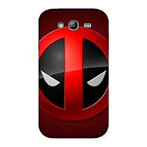 Cute Dead Eye Round Red Back Case Cover for Galaxy Grand Neo