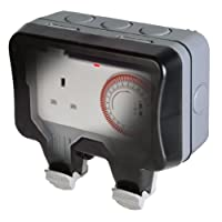 BG Electrical 13 A Nexus Storm Weatherproof Time Controlled Switch