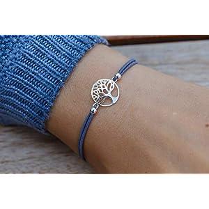 Armband mit Lebensbaum 925 Silber Weihnachten