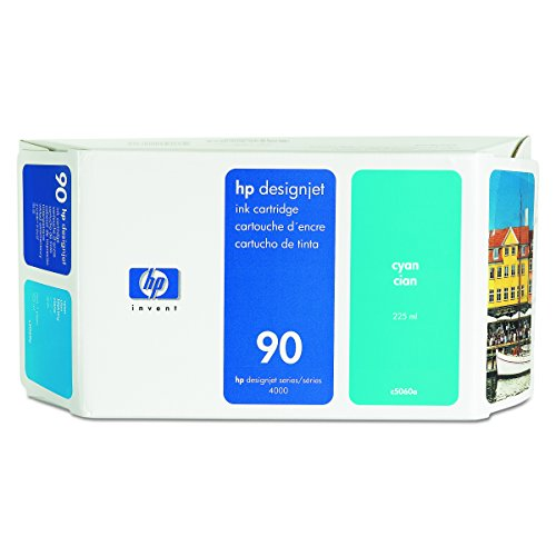 4020 Notebook (HP 90 Cyan Tintenpatrone, 225 ml)