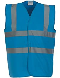 Yoko Hi VIS 2 Band and Braces Waistcoat - 26 Colours/Sml - 5XL