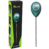 XLUX T10 Capteur d'humidité du sol, hydromètre pour le jardinage, l'Agriculture, ne nécessite pas de piles