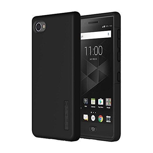 Incipio DualPro Case für BlackBerry Motion - von BlackBerry zertifizierte Schutzhülle (schwarz) [Extrem robust I Stoßabsorbierend I Soft-Touch Beschichtung I Hybrid] - BB-1052-BLK