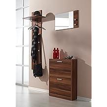 Suchergebnis auf Amazon.de für: Wandgarderobe Nussbaum Garderobe
