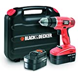 Black + Decker EPC18CABK Perceuse sans Fil