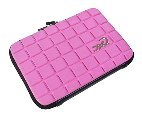 Croco CAS2312 Super Chocolate Carry Case Cover/Sleeve for 7 inch iPad Mini/Tablets - Pink
