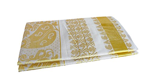 kerala traditional FULL BODY TISSUE KASAVU SAREE,Original 100% pure cotton kerala kasavu...