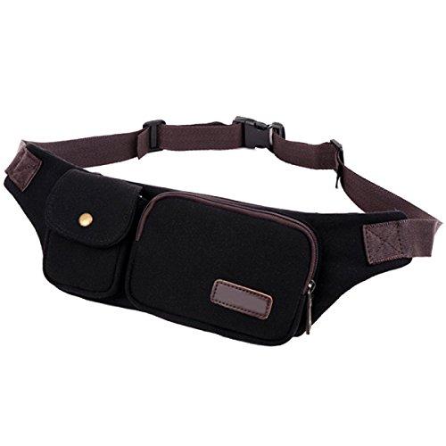 Multi-funzionali Tasche Outdoor Fitness Sport Multi-color,Beige-22*30*4cm Black