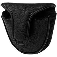 Sharplace 1 Unidad de Cubierta Protectora para Cabeza de Palos de Golf Putter Protector - Negro