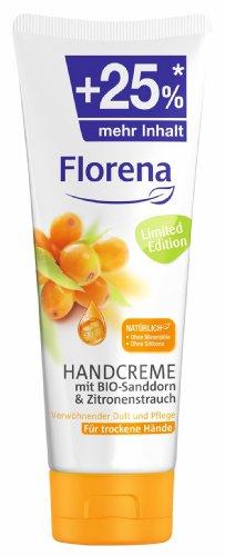 Florena Handcreme Sanddorn, 6er Pack (6 x 125 ml)