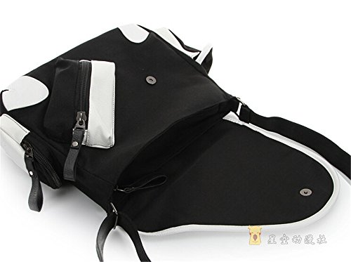 Siawasey anime giapponese Cosplay borsa Satchel zaino messenger bag borsa a tracolla nero One-Punch Man2 One-Punch Man