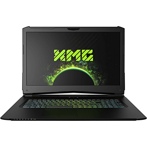 "XMG PRO 17 - M18ffx Gaming Laptop (17.3"" Full HD 144Hz IPS, GTX 1060, Intel Core i7-8750H, 32GB RAM, 500GB SSD NVMe, 1000GB HDD, Win 10 Home) schwarz"