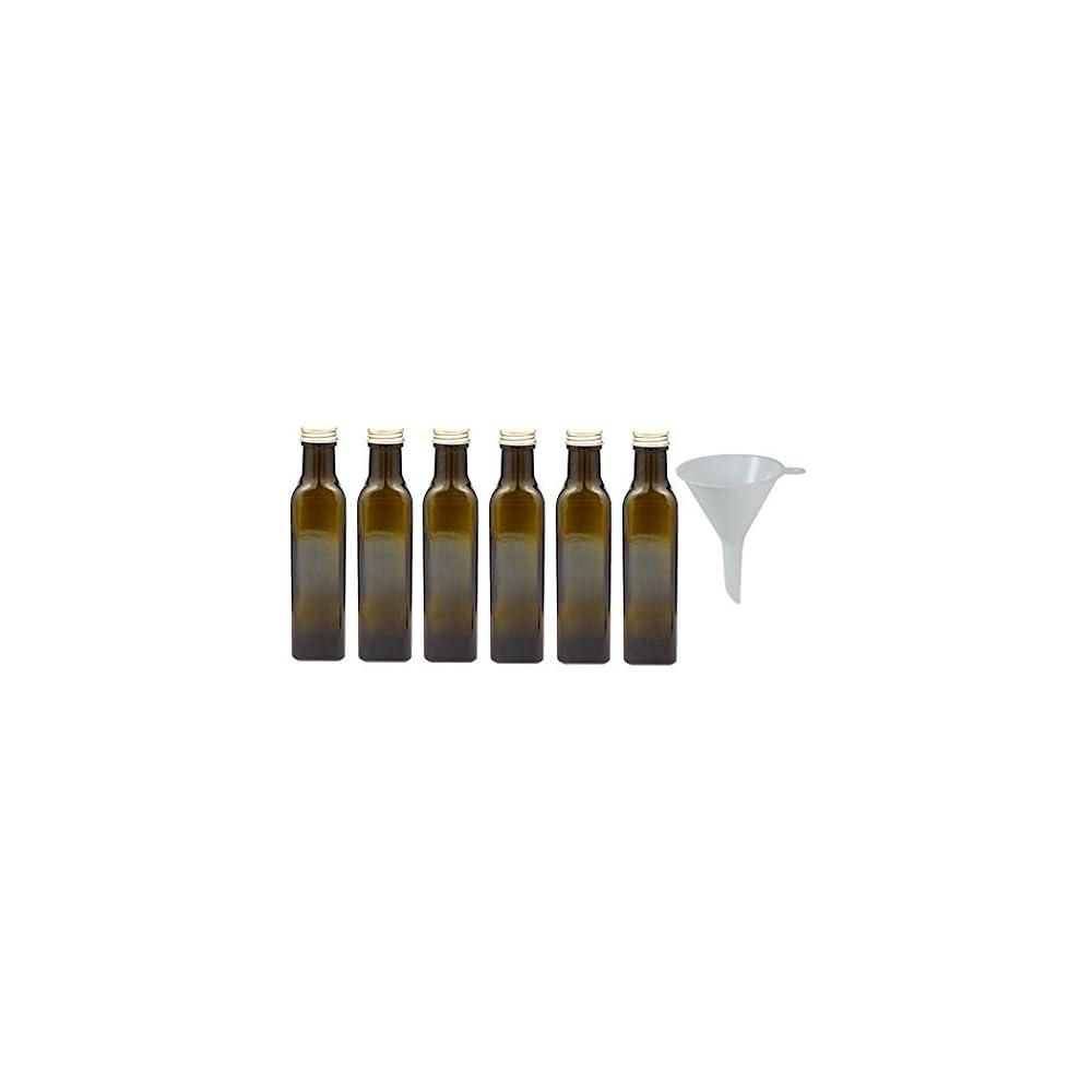 Viva Haushaltswaren Braune Glasflasche Lflasche