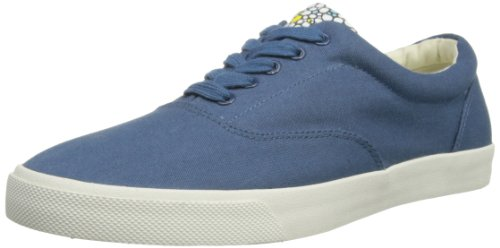 Bucketfeet False Denim, A collo basso uomo, Multicolore (Blu navy), 45