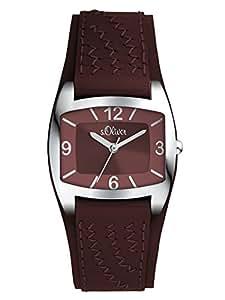 s.Oliver Damen-Armbanduhr XS Analog Quarz Leder SO-2914-LQ