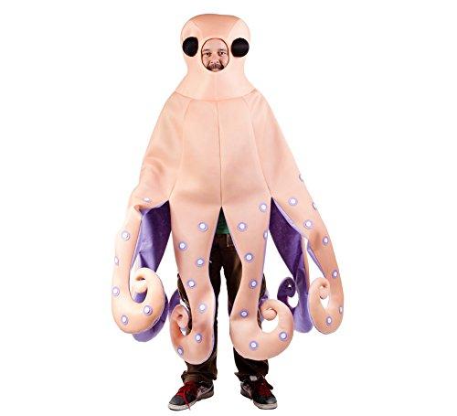 Imagen de disfraz de pulpo para adulto  única