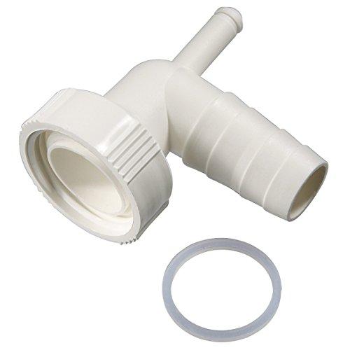Siphonanschluss mit Kondensatanschluss