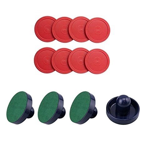 Easygame Air Hockey Accessories for Kids, 4 Pcs Pu