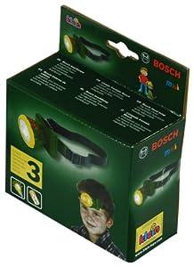 Klein 8458 Bosch - Linterna frontal de juguete Importado de Alemania