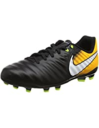 Nike Unisex Kids' Jr. Tiempo Ligera Iv FG Football Boots, White