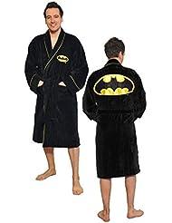 Robe Factory - Peignoir polaire Batman logo