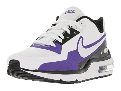 Nike Männer Air Max Ltd (Nike Herren Air Max Ltd 3 MOD Laufschuh, Weiß - White/White/Black/PRSN Violet - Größe: 41 EU)