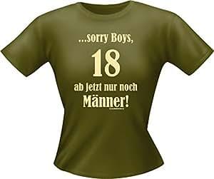 """Robe pour femme imprimé fun-t-shirts t-shirt à partir de 18 seulement!!! """"- taille m"""