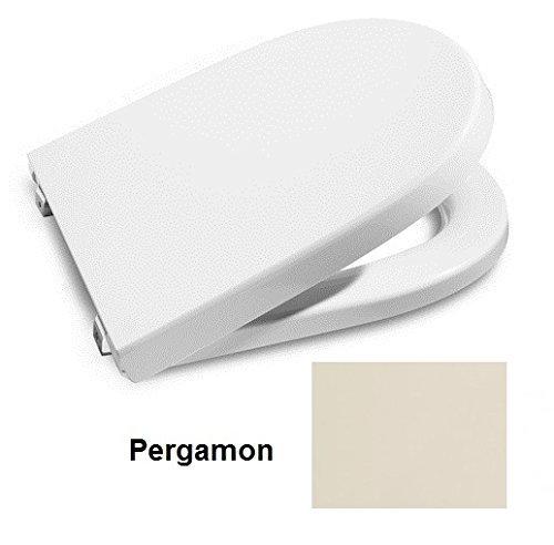 Roca A8012A0174 – Asiento y Tapa para inodoro Meridian Pergamon