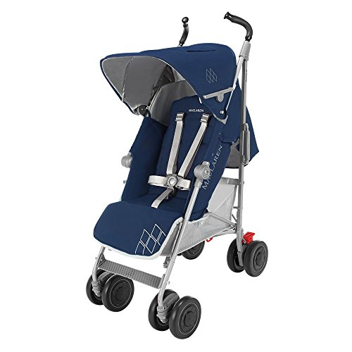 Maclaren Techno XT - Silla de paseo, color Medieval azul/plata