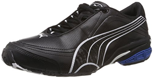 Puma Men's Tazon II DP Black, White and Olympian Blue Running Shoes