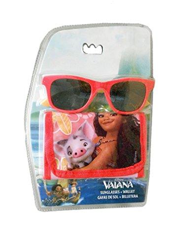 Disney-Vaiana Set Sonnenbrille mit Tür Blatt, wd17837
