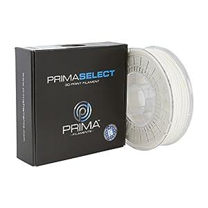 Prima Filaments PS-PLA-285-0750-WH PrimaSelect PLA Filament, 2.85 mm, 750 g, White