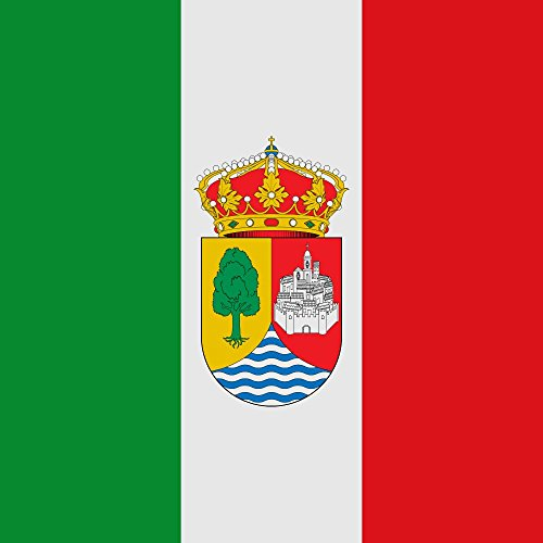 magFlags Flagge: Large Fresno de la Ribera   Compuesta Con tres Colores de su Escudo de Armas   Fahne 1.35m²   120x120cm » Fahne 100% Made in Germany
