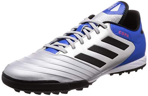adidas Copa Tango 18.3 Tf, Scarpe da Calcio Uomo, Argento Silvmt/Cblack/Fooblu, 42 EU