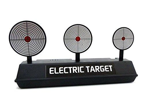 Brigamo 18066 - ⚡⚡ Elektrischer Schießstand mit 3 Zielscheiben für Softair Waffen ⚡⚡
