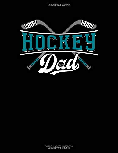 Hockey Dad: Cornell Notes Notebook por Jeryx Publishing