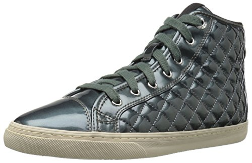 Geox D New Club A Damen Hohe Sneakers Blau (LAKEC4069)