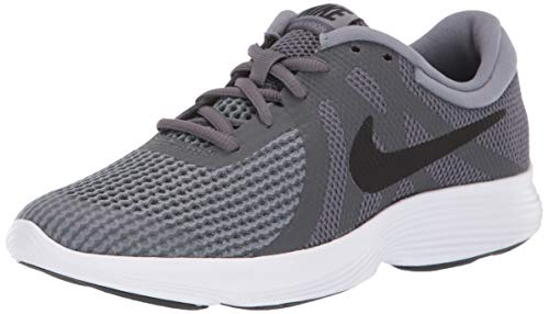 005 Waschmaschine (Nike Herren Revolution 4 (GS) Sneakers, Mehrfarbig (Dark Black/Cool Grey/White 001), 39 EU)