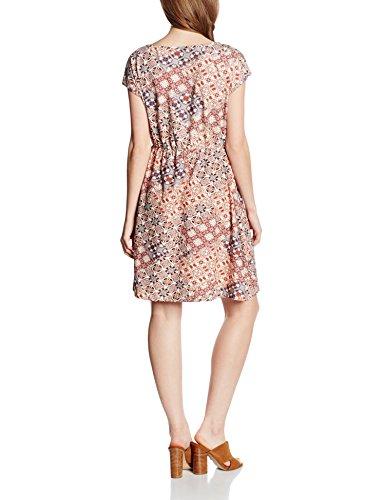 edc by Esprit 046cc1e023-Lace Details, Robe Femme Marron (CAMEL 230)