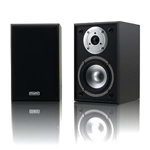 1 Paar Kompaktlautsprecher Mohr KL10 schwarz Lautsprecherboxen Satelliten Regallautsprecher Wandlautsprecher Lautsprecher