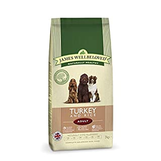 Ara Carna pets James wellbeloved adult lamb and rice 1.5kg (Turkey n rice, 2kg)