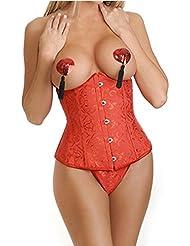 Cuerpo de Europa Royal corsé chaleco vestido para hacer corsés para la cintura de las señoras característica conformación ropa interior , red , xxxl