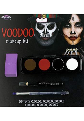 Unbekannt Fun World Voodoo Makeup Kit Standard