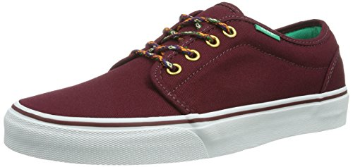 Vans U 106 Vulcanized, Baskets mode mixte adulte Rouge ((Heavy Canvas)