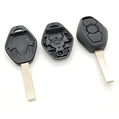 Funkschlüsselgehäuse für BMW Z4 E39 E38 M3 E46 M5 inklusive Schlüsselrohling