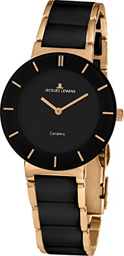 Jacques Lemans Ladies Watch Monaco Analogue Quartz Ceramic 1 1866 °C